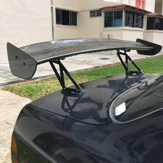 CF GT Wing with alloy stand