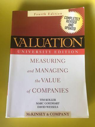 Valuation (McKinsey & company) 4th ed.