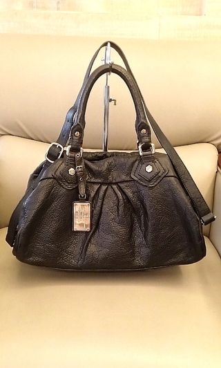 1fbe9d70e7fc MARC by Marc Jacobs Classic Q Baby Groovee Pebbled Calf Leather 2way Bag