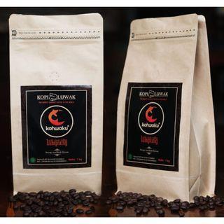 100% WILD Luwak - ROBUSTA Cofee Bean and Powder