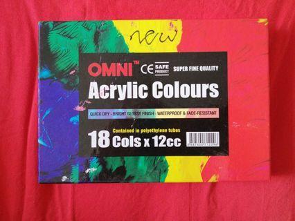 omni acrylic colours