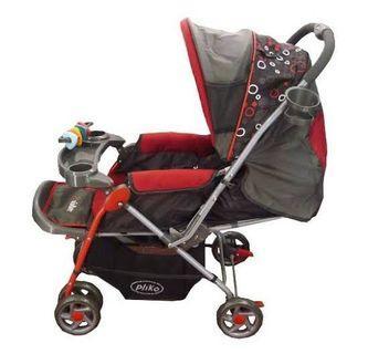 Stroller Grande Pliko Merah
