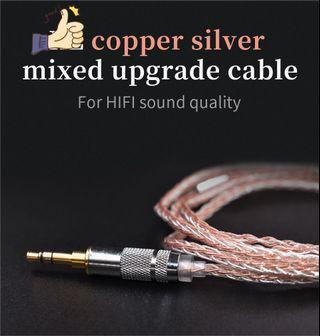 😈 Professional weaving copper and silver mixed plated wire