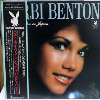 Barbi Benton The Best Live In Japan 黑膠唱片 LP