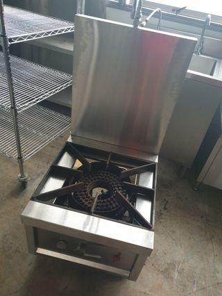 Single Ring burner Low Stock pot Stove - Commercial kitchen equipment