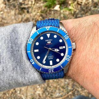 "[BNIB] Seiko 5 "" Rolex Submariner Homage "" Sports Automatic Made in Japan SRPB89 SRPB89J1 SRPB89J Mens Watch"