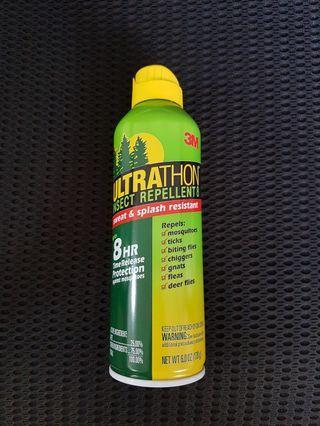 3M ultrathon insect repellent sweat and splash resistant