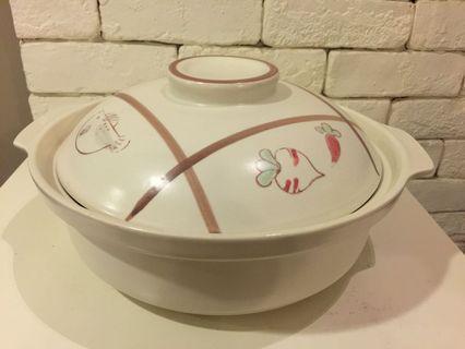 """Large Ceramic Claypot diameter diameter 12"""" approx"""