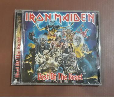 CD Iron Maiden - Best Of The Beast ( UK PRESS )