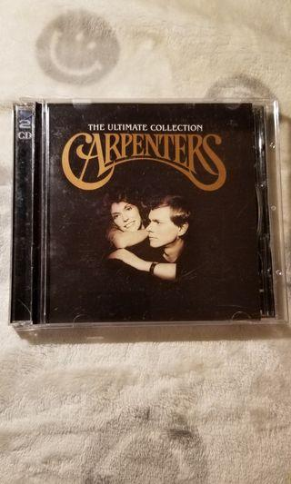 Carpenters The Ultimate Collection 2CD 一手CD 巳多年沒播過 加国回流運回港的