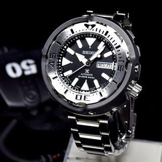 [BNIB] Seiko Prospex Baby Tuna Black Monster SRPA79J1 SRPA79 SRPA79J Automatic Diver's Made in Japan Watch‎