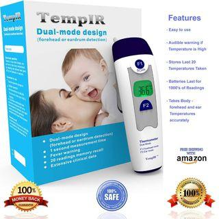 (J330) TempIR Baby/Adult Dual Thermometer - Self Collect Only