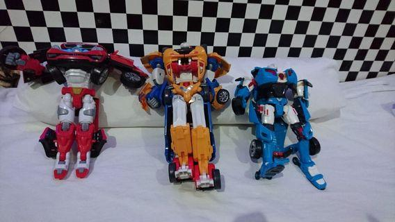 Tobot Transformers All For $70