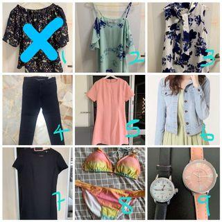 CLOTHES $4 Clearance