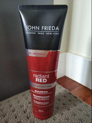 John Frieda Radiant Red Boosting Shampoo 250ml