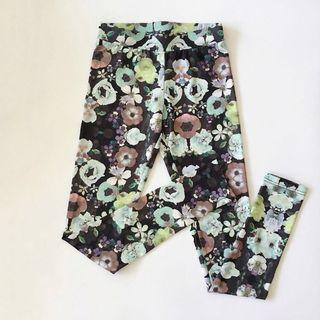 🚚 H&M Water Colour Floral Tights #endgameyourexcess