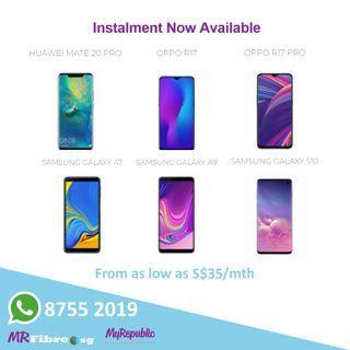Huawei MATE 20 Pro | Oppo R17 | Oppo R17 Pro | Instalment