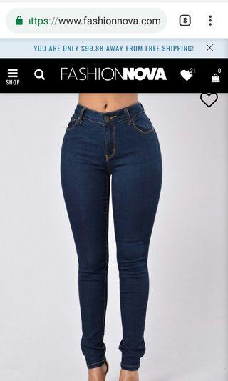 Fashion Nova Jeans and Leggings - free gift with purchase