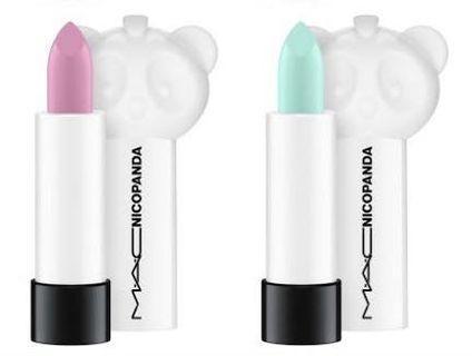 MAC: Nicopanda 2x lipsticks