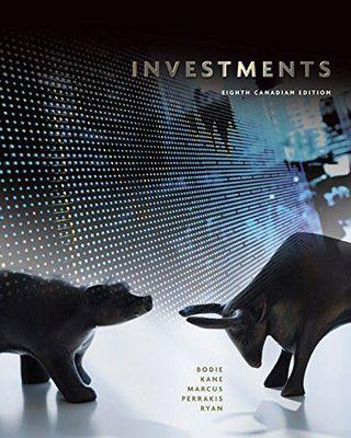 Investments 8th canadian edition