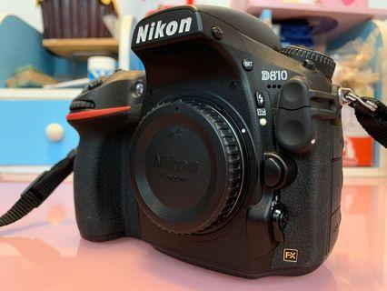 Nikon D810連下列配件