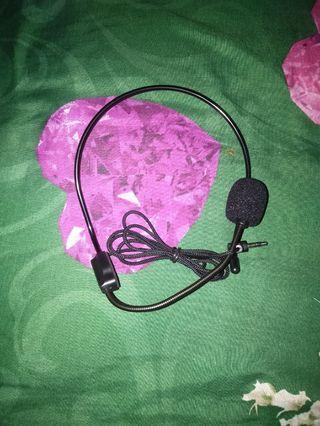 Mikrofon mengajar wired headset