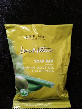 Love Nature Soap Bar Olive Oil & Aloe Vera