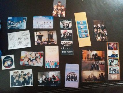 BTS cards + drawings