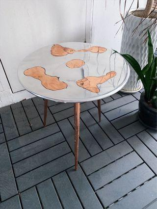🚚 Classy Copper Clouds Side Table