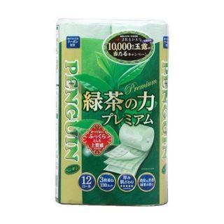 Marutomi MTDC1003 日本丸富绿茶香味 3 層衛生紙 [12卷/袋]