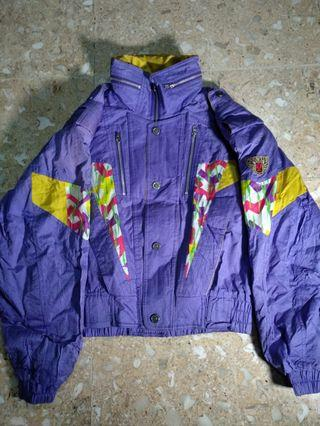 Vintage ski jacket cabin club