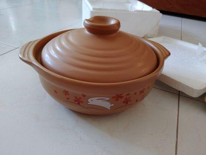Induction ceramic pot