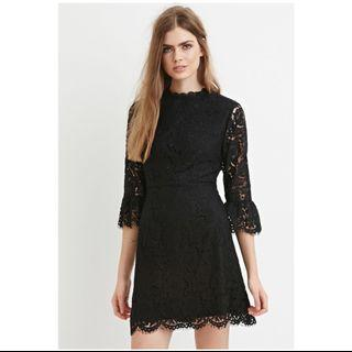 Forever 21 Contemporary Lace Dress Size M (fits UK10-UK12) #endgameyourexcess