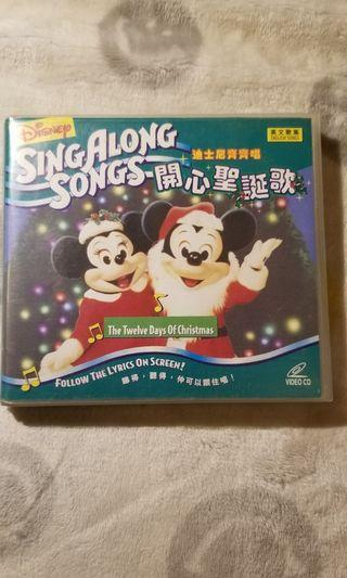 Disney Sing Along Songs VCD 一手VCD 巳多年沒播過