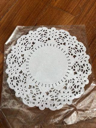 Clearance! Plain Doily paper baking art and craft