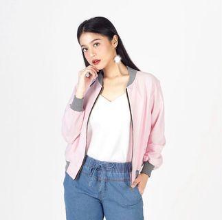 NEW Pink Bomber Jacket