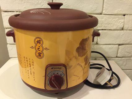 SANSUI Electric Slow Cooker model SSC 308 Capacity 3Litre