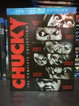 Pre-loved Original Chucky The Complete Collection Bluray
