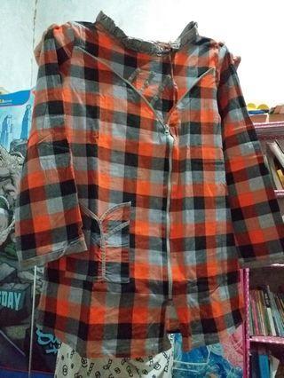 baju tunik tanggung