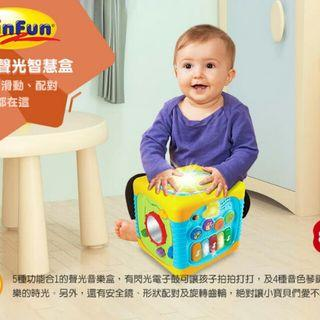 🚚 Winnie Fun5合一身光音樂盒