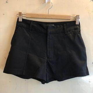 Abercrombie and fitch a and f a&f anf black shorts