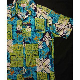 Vintage Aloha Shirt 美式古著 夏日復古風 洋柄夏威夷襯衫 花襯衫 HAWAII Shirt