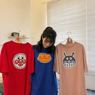 🔥Harajuku Anpanman Cartoon Ulzzang Tee