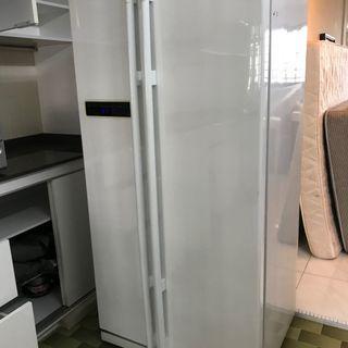 2-Door Samsung Fridge.  Used but in good condition.
