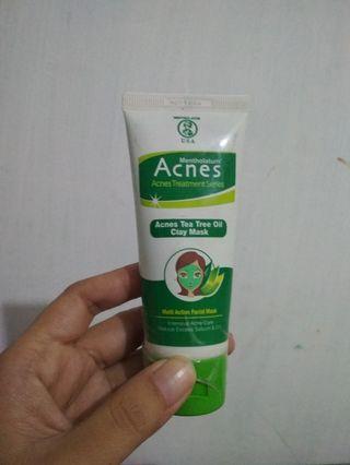 #mudikhemat acnes clay mask