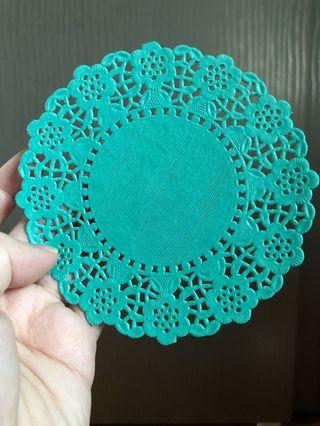 Clearance! Color doily paper for art craft baking