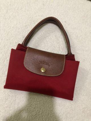 Authentic Longchamp Medium Short Handle Tote
