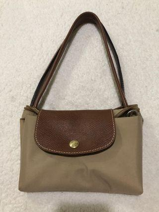 Authentic Longchamp Long Handle Small Tote