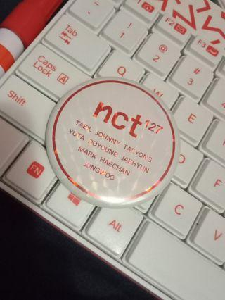 READYSTOCK Official NCT127 Badge Neo City: Japan