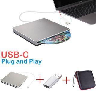 (J329) USB C Superdrive Biscon External DVD Drive USB3.0 /MAC OSX - Self Collect Only